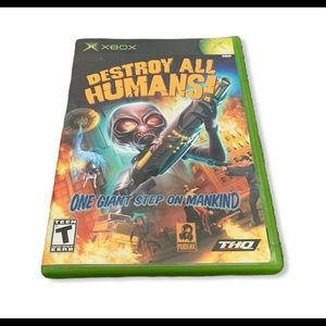 Other - Destroy All Humans Microsoft Xbox, 2005 Video Game